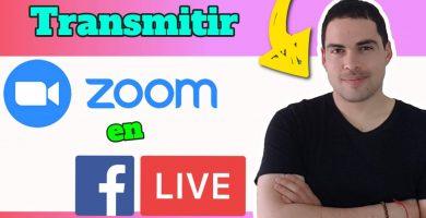 transmitir zoom en facebook